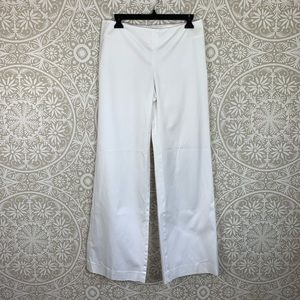Lilly Pulitzer White Kenlyn Wide Leg Trouser